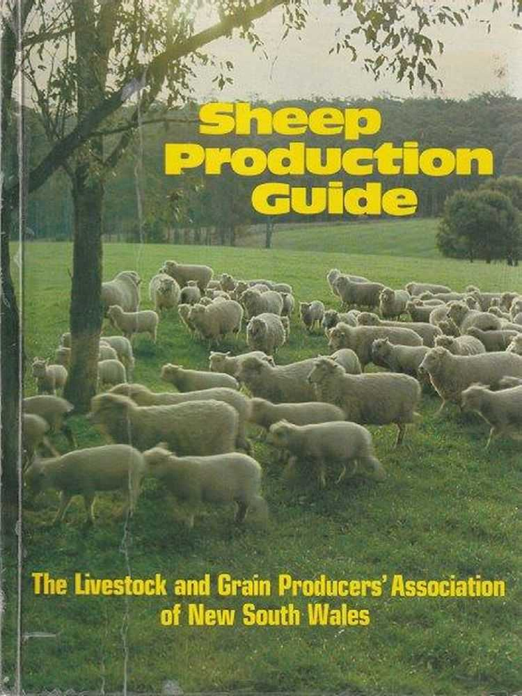 Sheep Production Guide, J.O. White