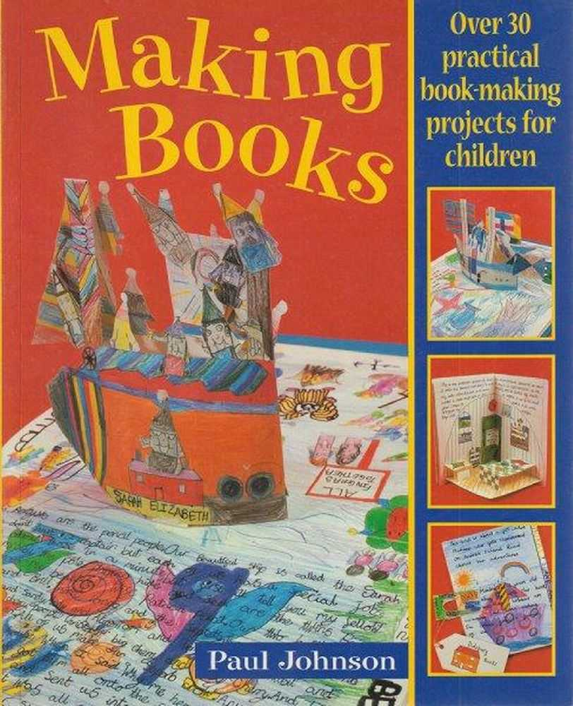Making Books, Paul Johnson