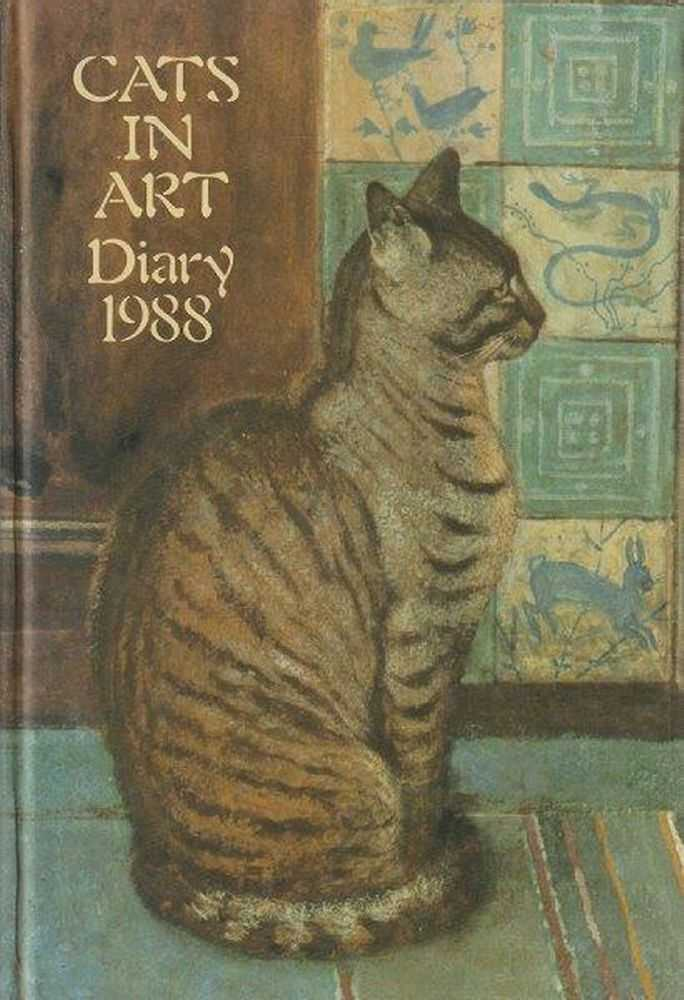 Cats In Art Diary 1988, No Author Credited