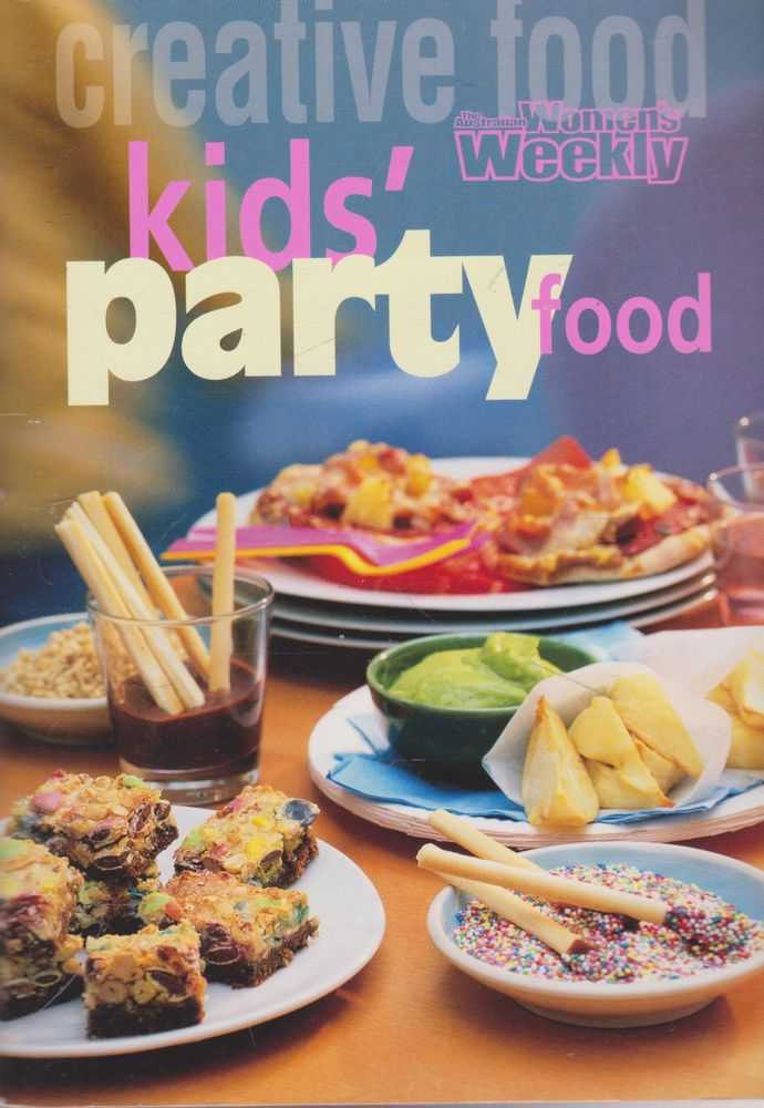 Kid's Party Food, The Australian Women's Weekly