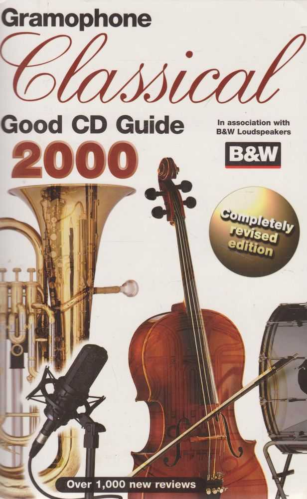 Gramophone Classical Good CD Guide 2000, Maire Taylor [Editor]
