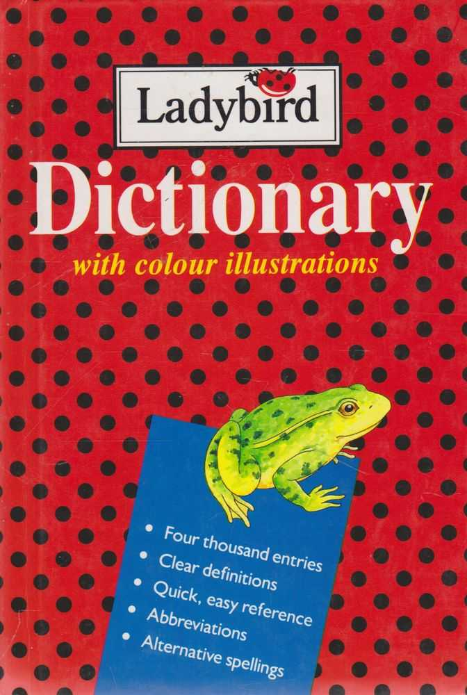 Ladybird Dictionary With Colour Illustrations, Audrey Daly [Editor]