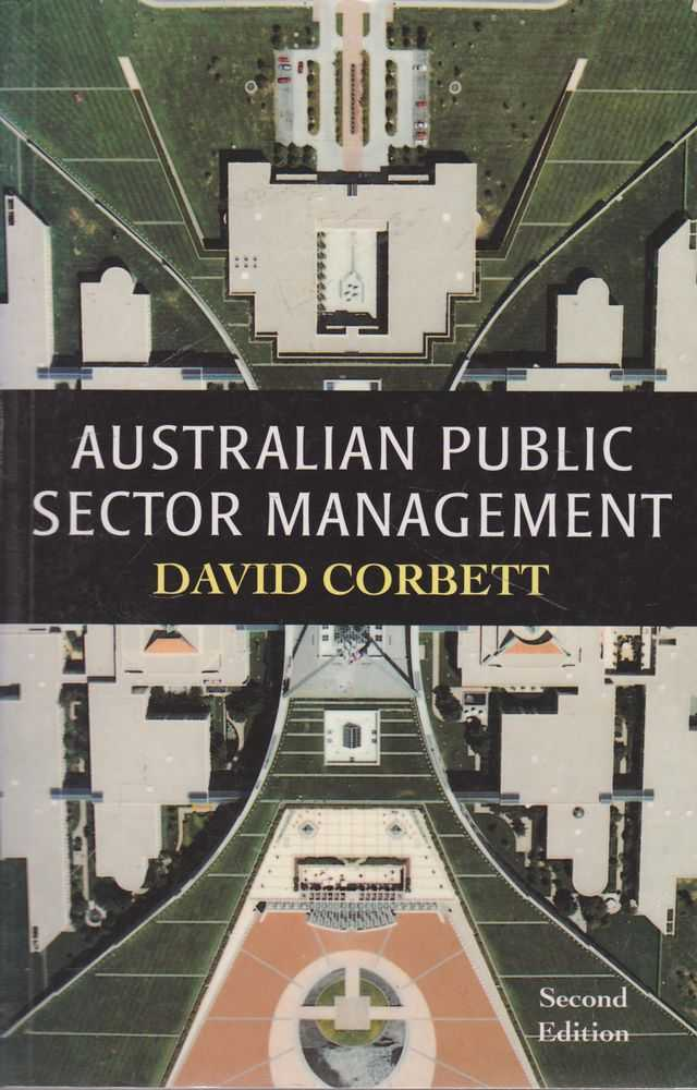 Australian Public Sector Management, David Corbett