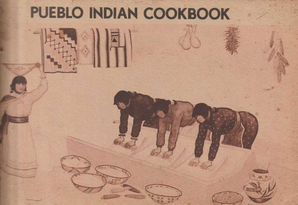 Pueblo Indian Cookbook, Phyllis Hughes