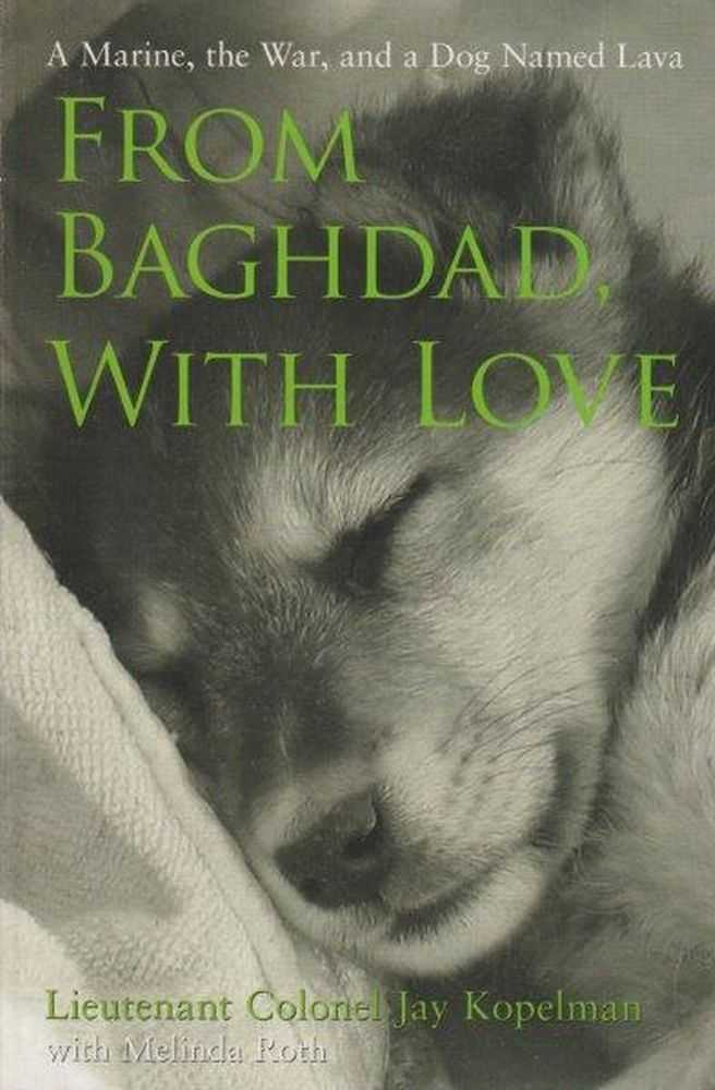 From Baghdad, With Love - A Marine, The War And A Dog Named Lava, Lieutenant Colonel Jay Kopelman with Melinda Roth