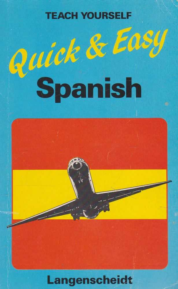 Teach Yourself Quick and Easy Spanish, Diethard Lubke