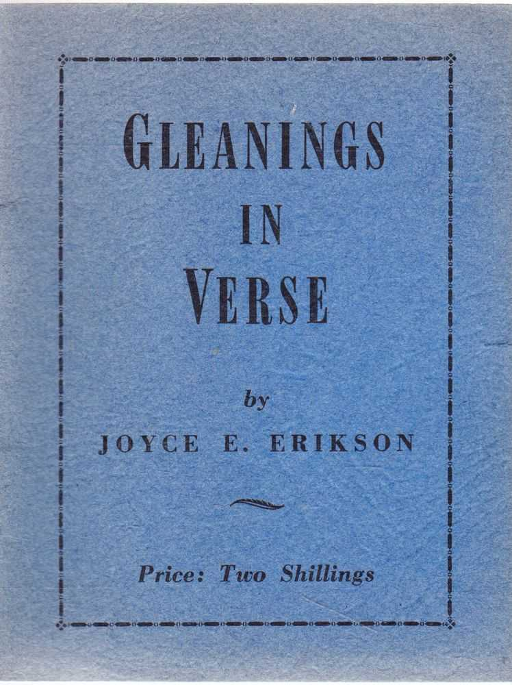 Gleanings in Verse, Joyce E. Erikson