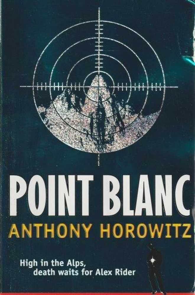 Alex Rider Point Blanc Mission 2, Anthony Horowitz