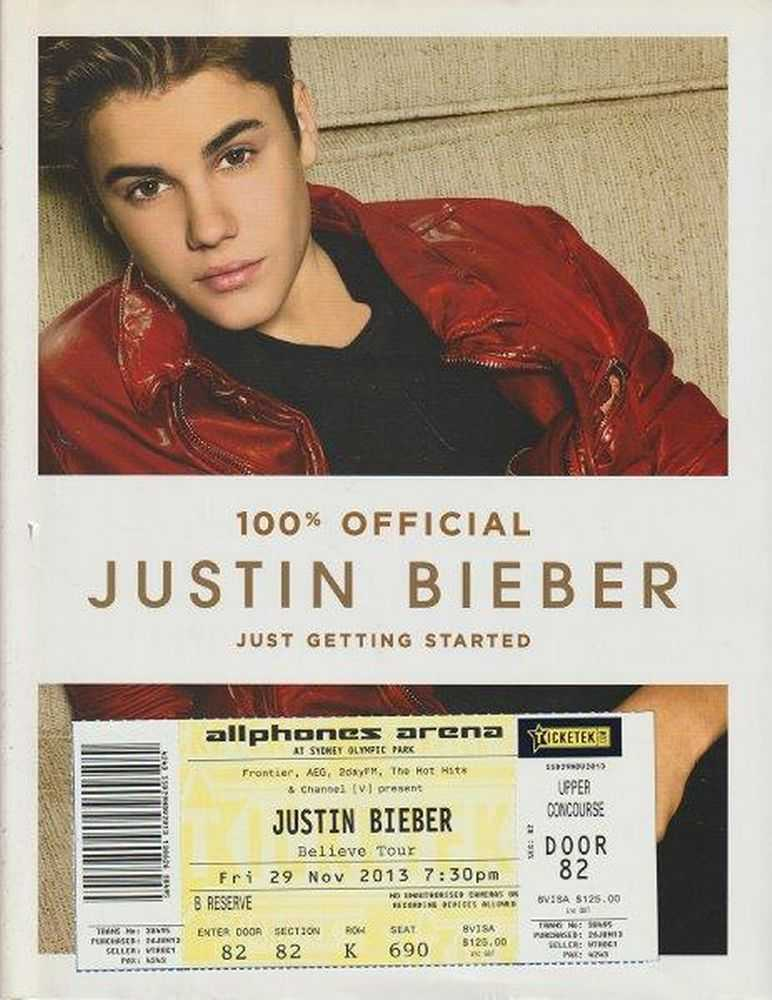 Just Getting Started, Justin Bieber