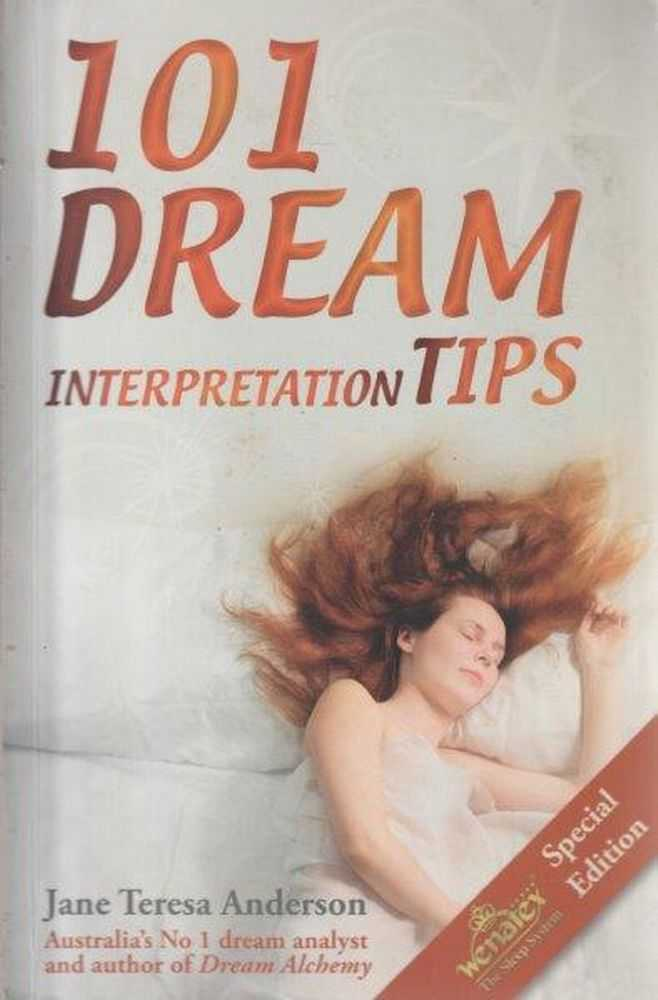 101 Dream Interpretation Tips, Jane Teresa Anderson