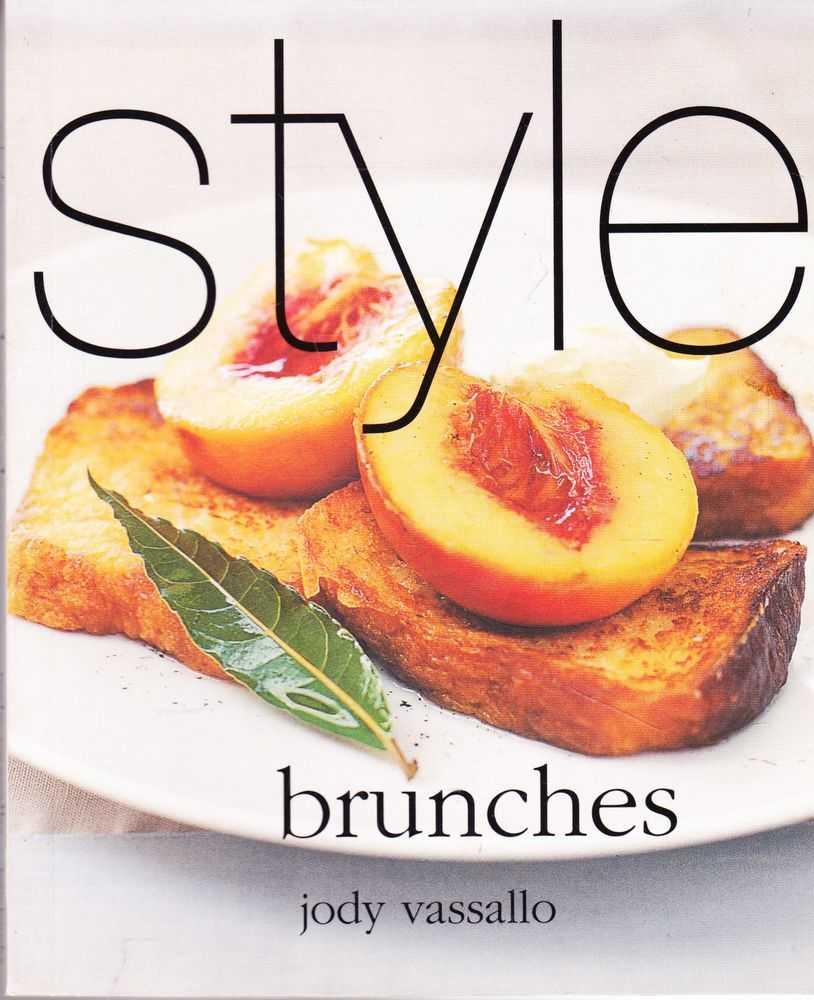 Style: Brunches, Jody Vassallo