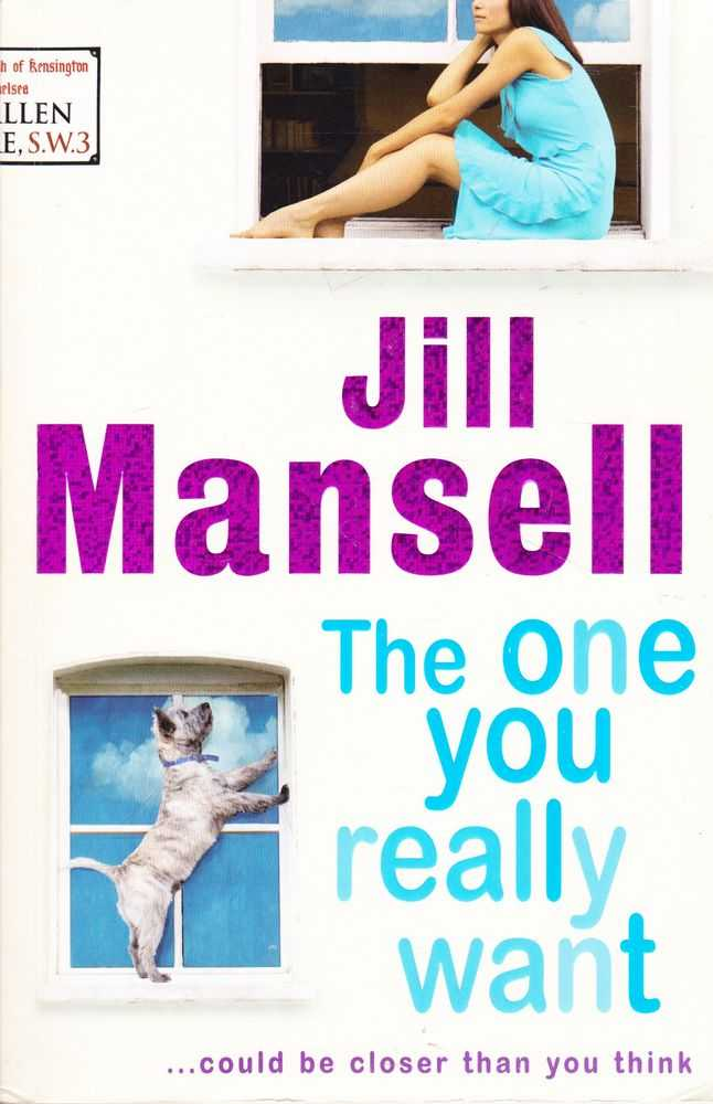 The One Your Really Want, Jill Mansell