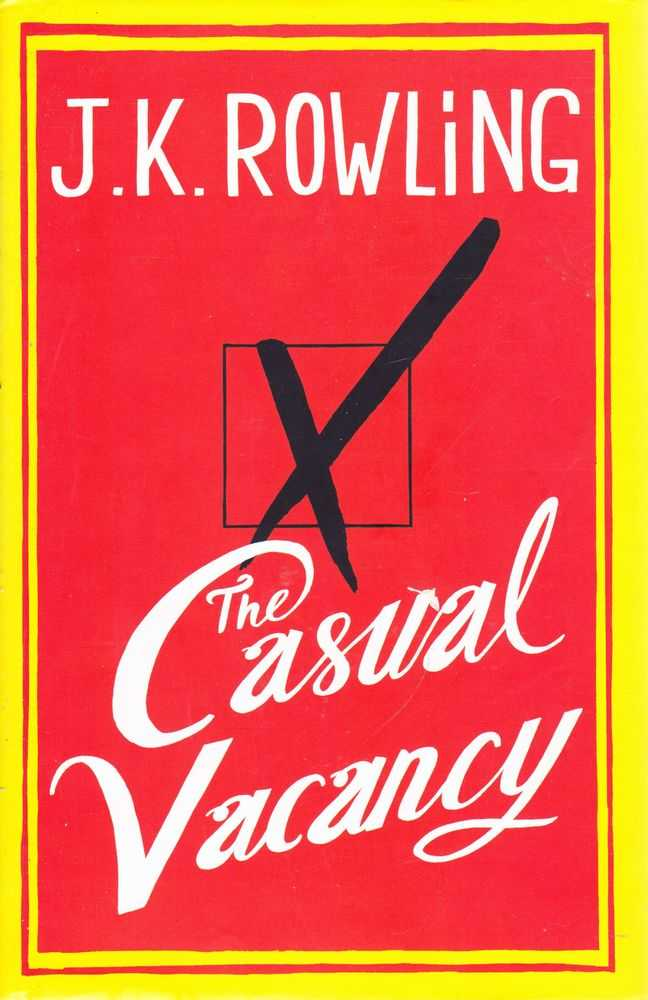 The Casual Vacancy, J.K. Rowling