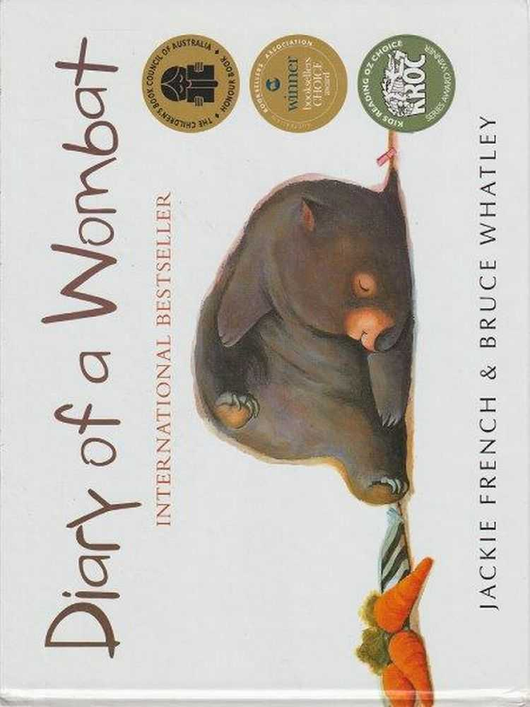 Diary Of A Wombat, Jackie French & Bruce Whatley