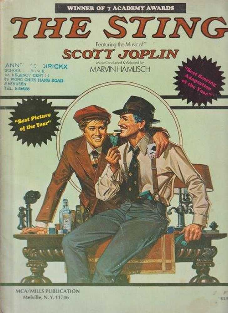The Sting, Scott Joplin