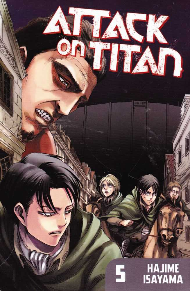 Attack On Titan 5: Can You Go Home Again, Hajime Isayama