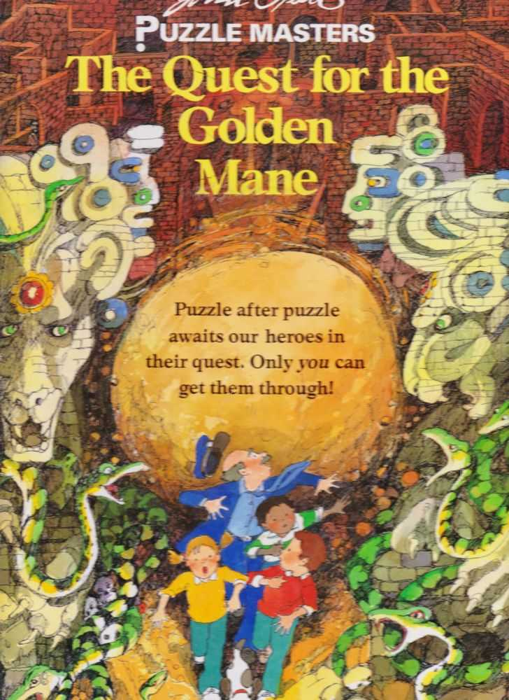 John Speirs Puzzle Masters: The Quest for the Golden Mane, John Speirs