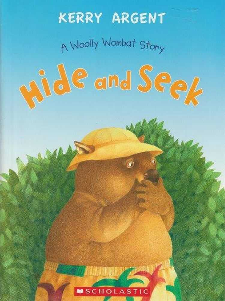 Hide And Seek Woolly Wombat Story, Kerry Argent