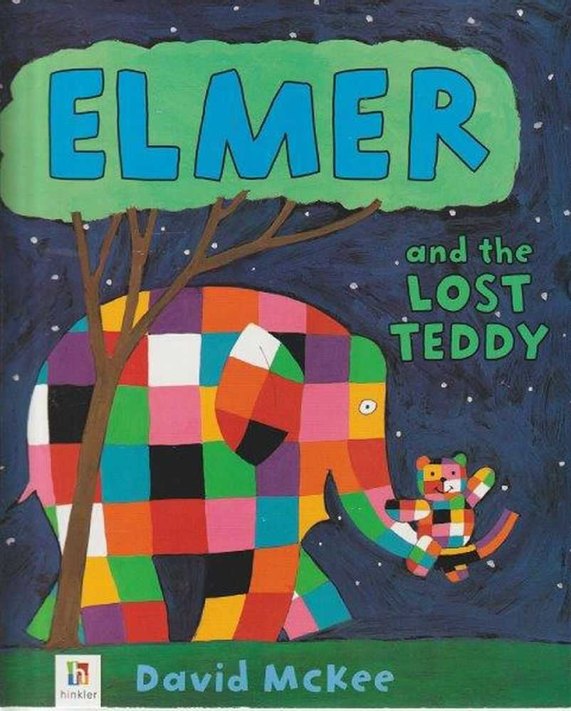Elmer And The Lost Teddy, David McKee