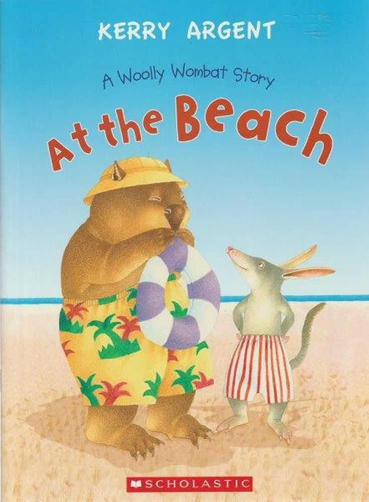 At The Beach A Woolly Wombat Story, Kerry Argent