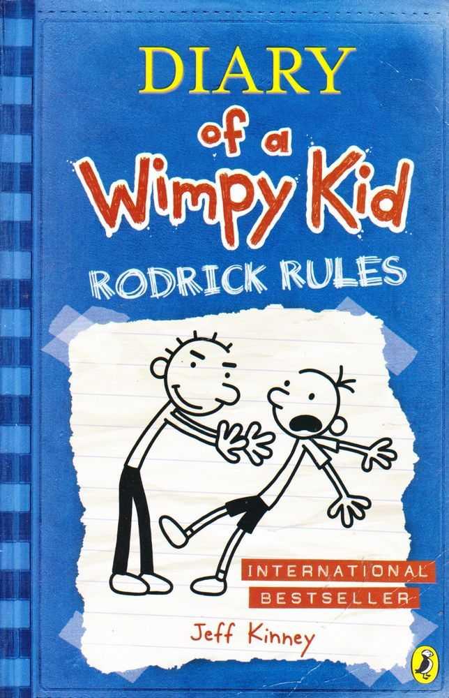Diary Of A Wimpy Kid Rodrick Rules, Jeff Kinney