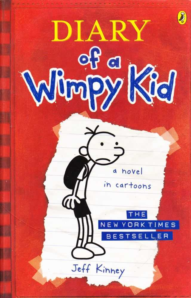 Diary Of A Wimpy Kid A Novel In Cartoons, Jeff Kinney