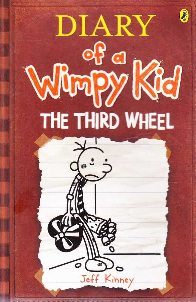 Diary Of A Wimpy Kid The Third Wheel, Jeff Kinney