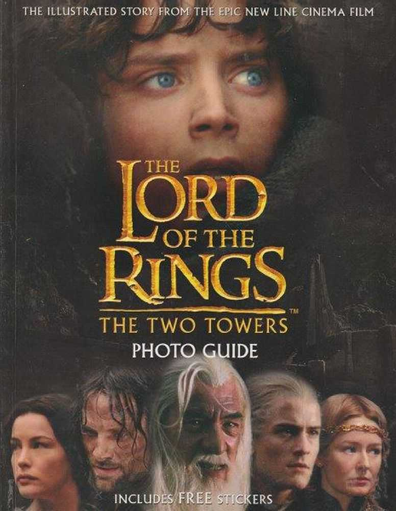 The Lord Of The Rings - The Two Towers - Photo Guide - Includes FREE Stickers, David Brawn