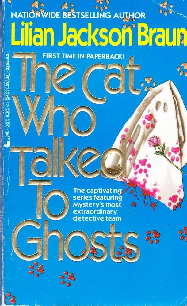 The Cat Who Talked to Ghosts, Lilian Jackson Braun