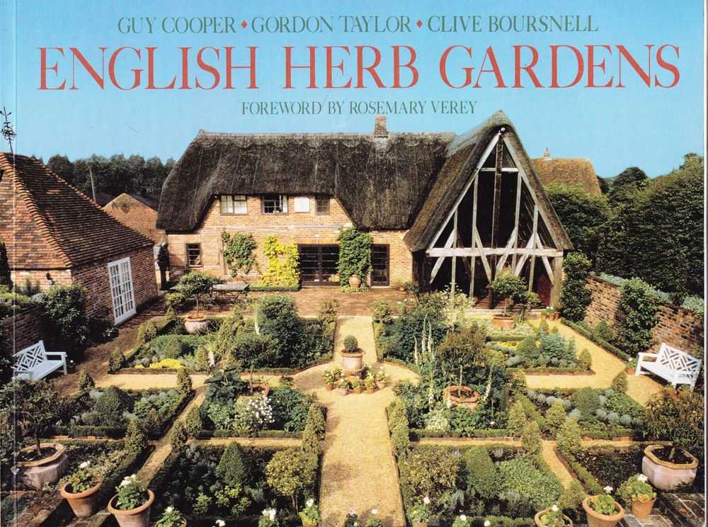 English Herb Gardens, Guy Cooper, Goprdon Taylor, Clive Boursnell
