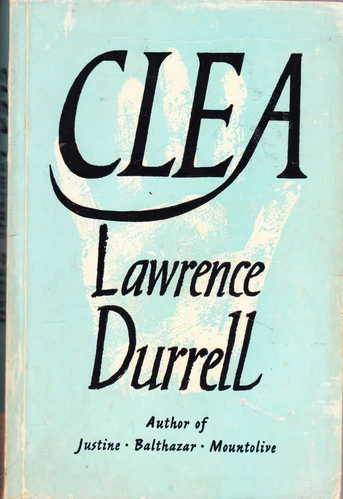 Clea, Lawrence Durrell