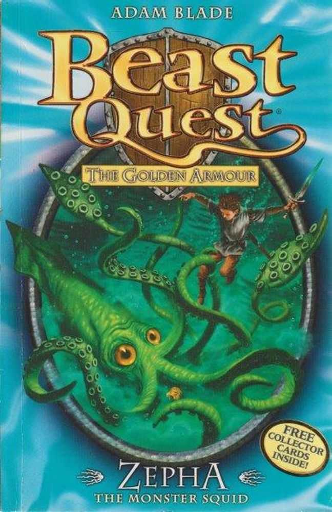 Beast Quest: The Golden Armour: 7: Zepha - The Monster Squid, Adam Blade
