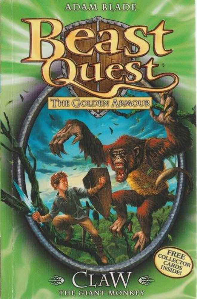 Beast Quest: The Golden Armour: 8: Claw - The Giant Monkey, Adam Blade