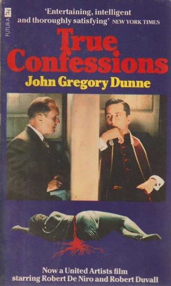 True Confessions, John Gregory Dunne