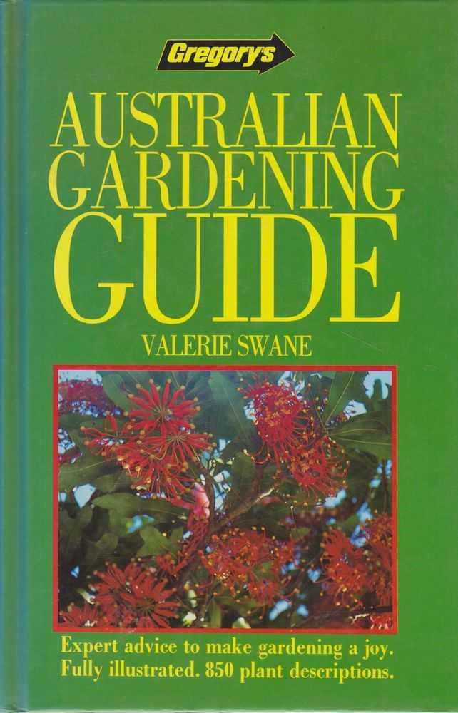 Gregory's Australian Gardening Guide, Valerie Swane