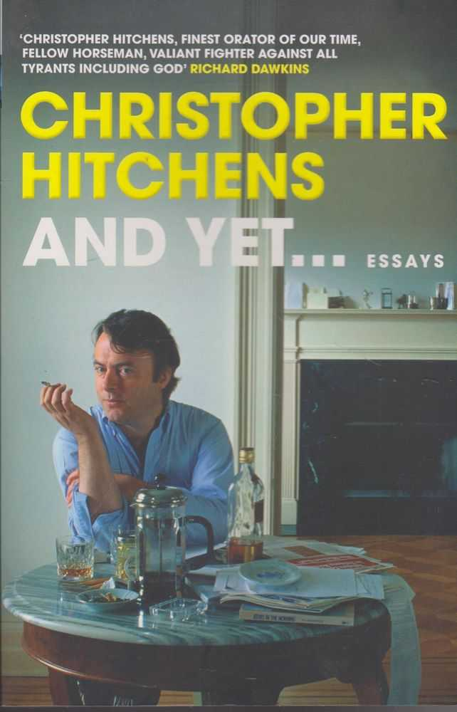 And Yet....Essays, Christopher Hitchens