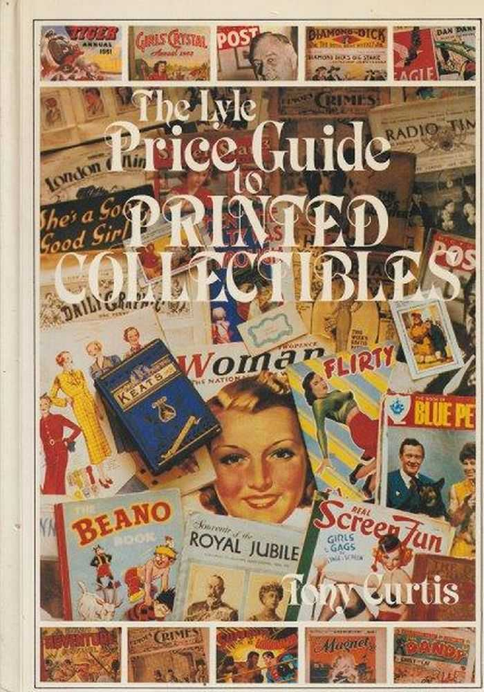 The Lyle Price Guide To Printed Collectibles, Tony Curtis