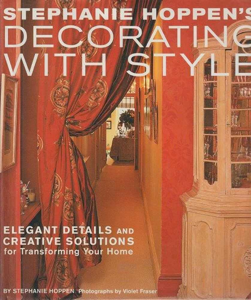 Decorating With Style, Stephanie Hoppen
