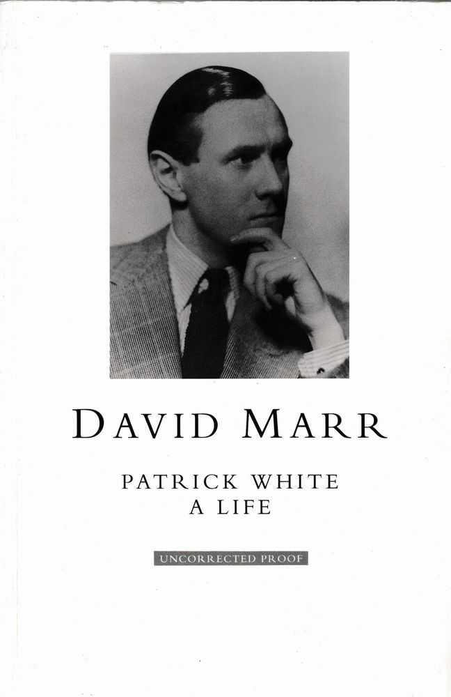 Patrick White: A Life, David Marr