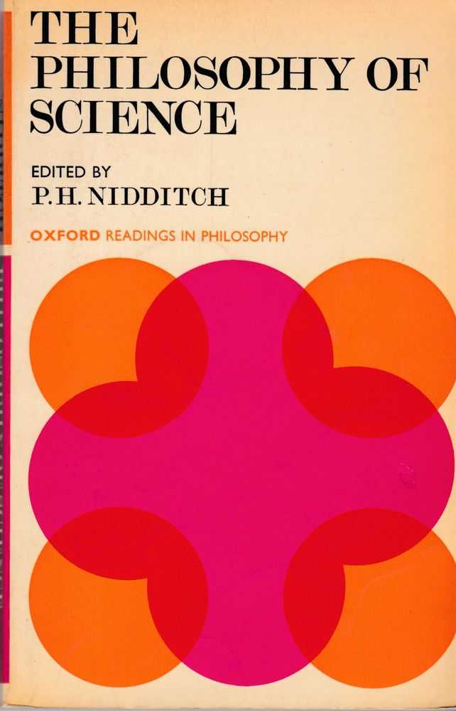 The Philosophy of Science, P. H. Nidditch [Editor]