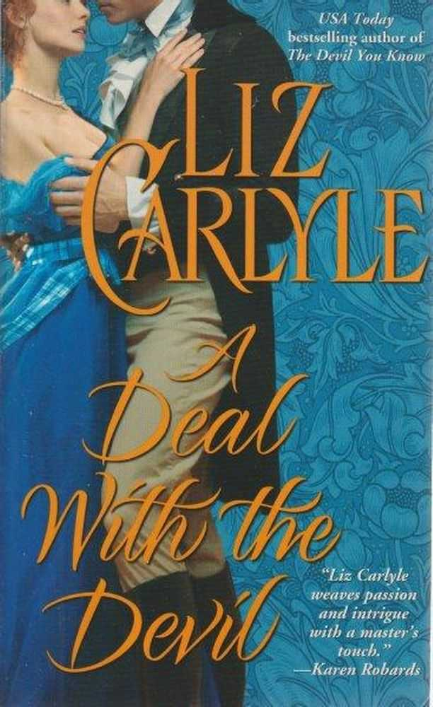 A Deal With The Devil, Liz Carlyle