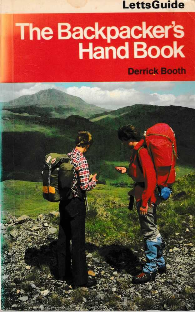 The Backpacker's Handbook [Letts Guide], Derrick Booth