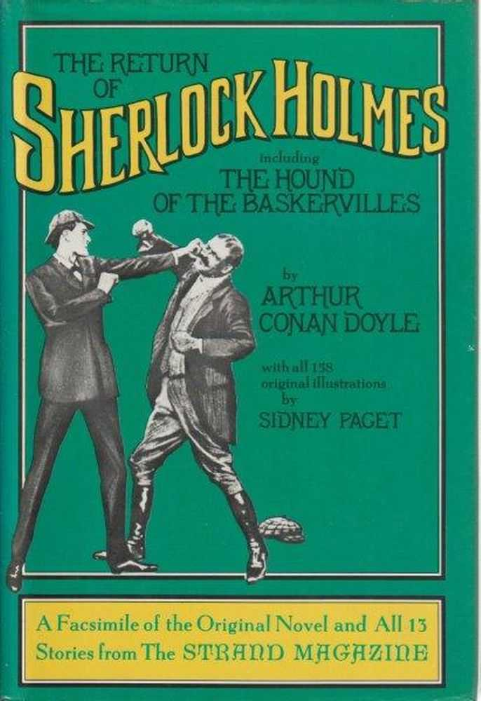 The Return Of Sherlock Holmes Including The Hound Of The Baskervilles, Arthur Conan Doyle