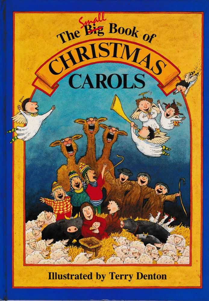 The Big Book of Christmas Carols, Terry Denton [Illustrations]