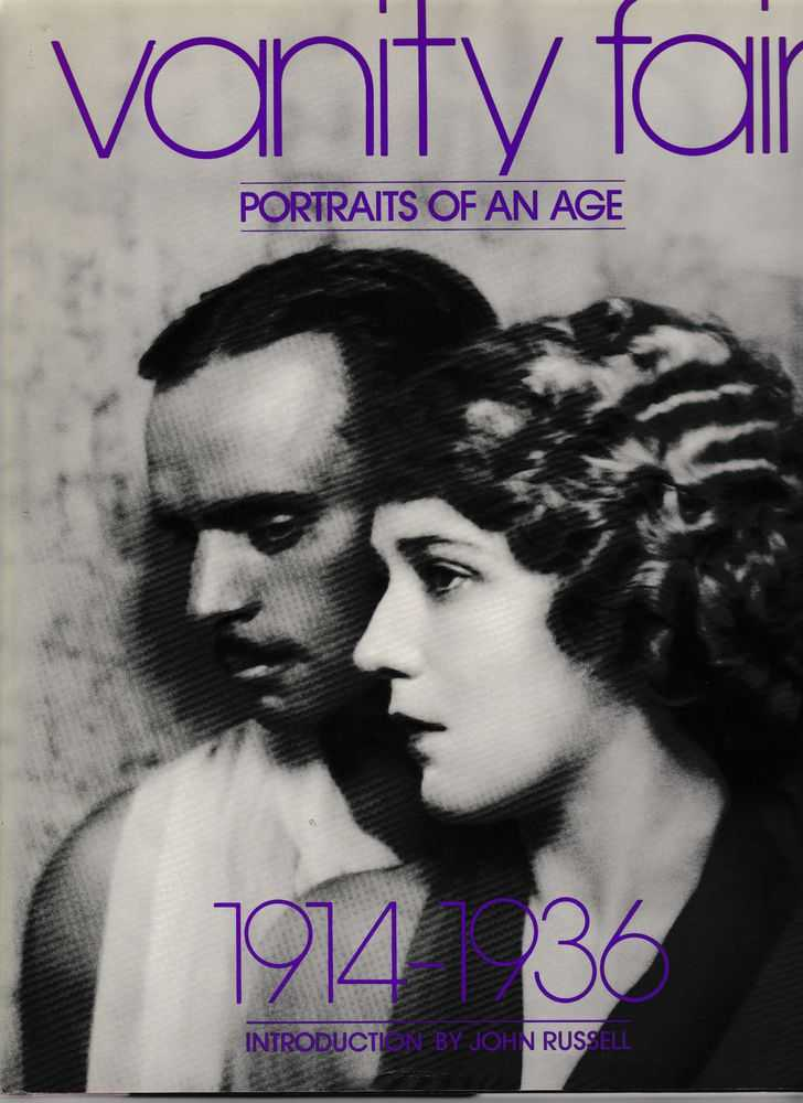 Vanity Fair: Portraits of an Age 1914-1936, Diana Edkins Richardson [Editor]