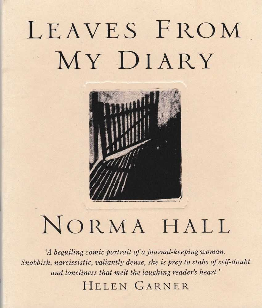 Leaves from my Diary: A Convenient Index of Synoptic Brevities, Norma Hall