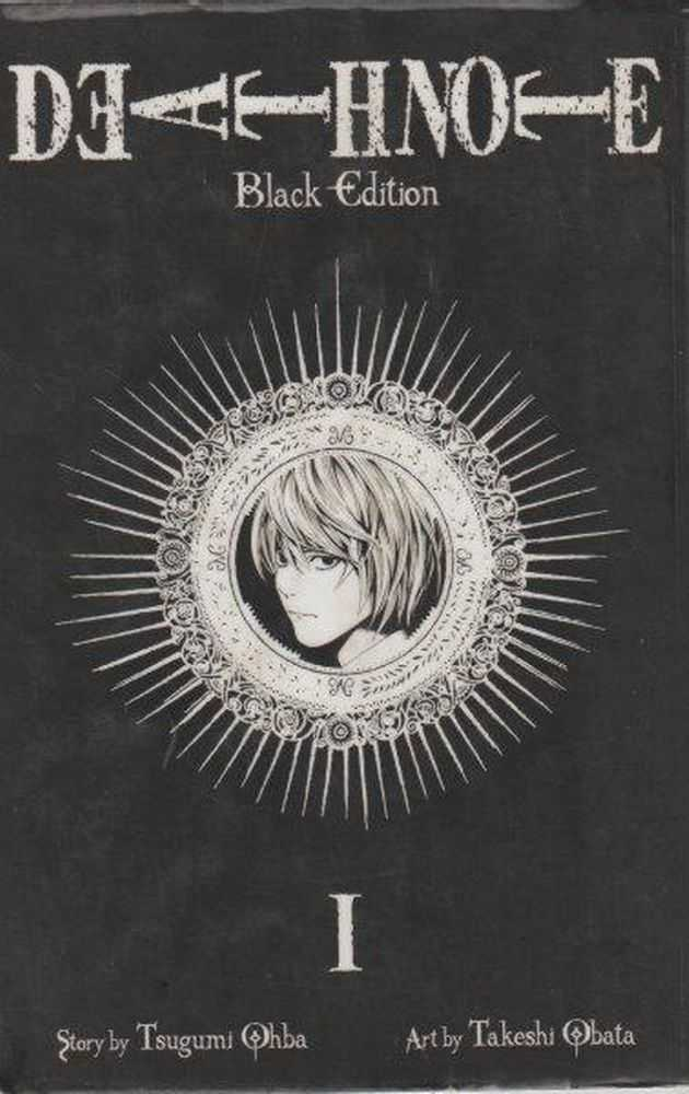 Death Note Black Edition I, Tsugumi Ohba