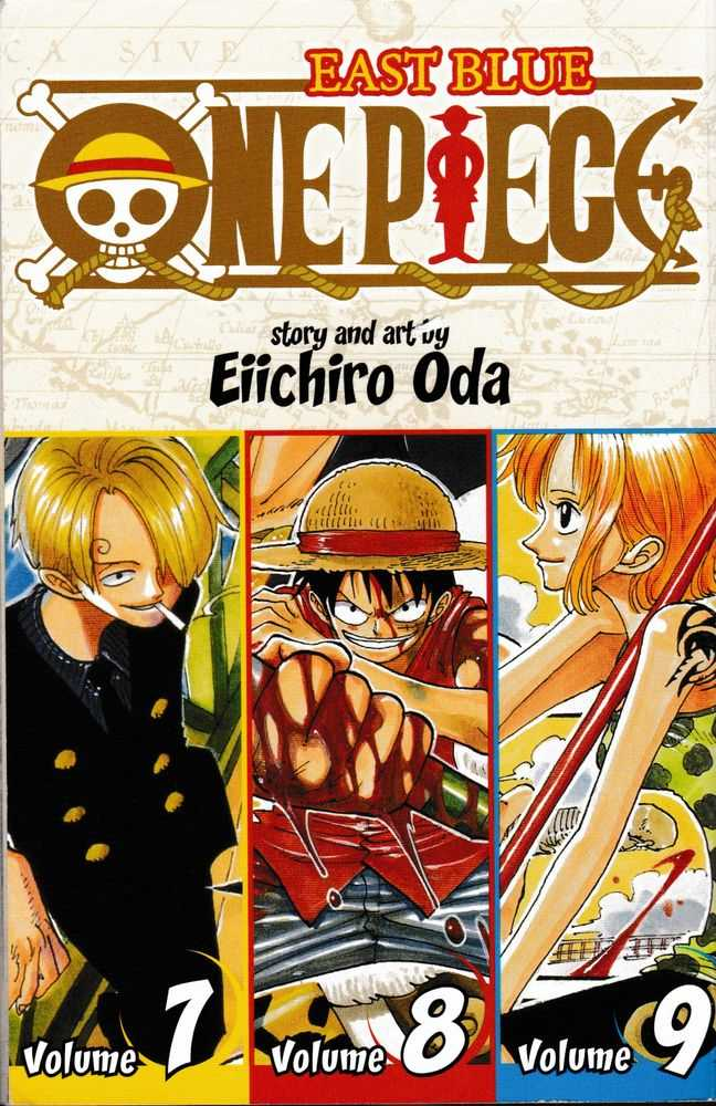 One Piece: East Blue 7-8-9, Eiichiro Oda