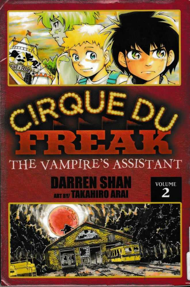 Cirque Du Freak: The Vampire's Assistance Vol 2 (Cirque Du Freak: The Manga #2), Darren Shan
