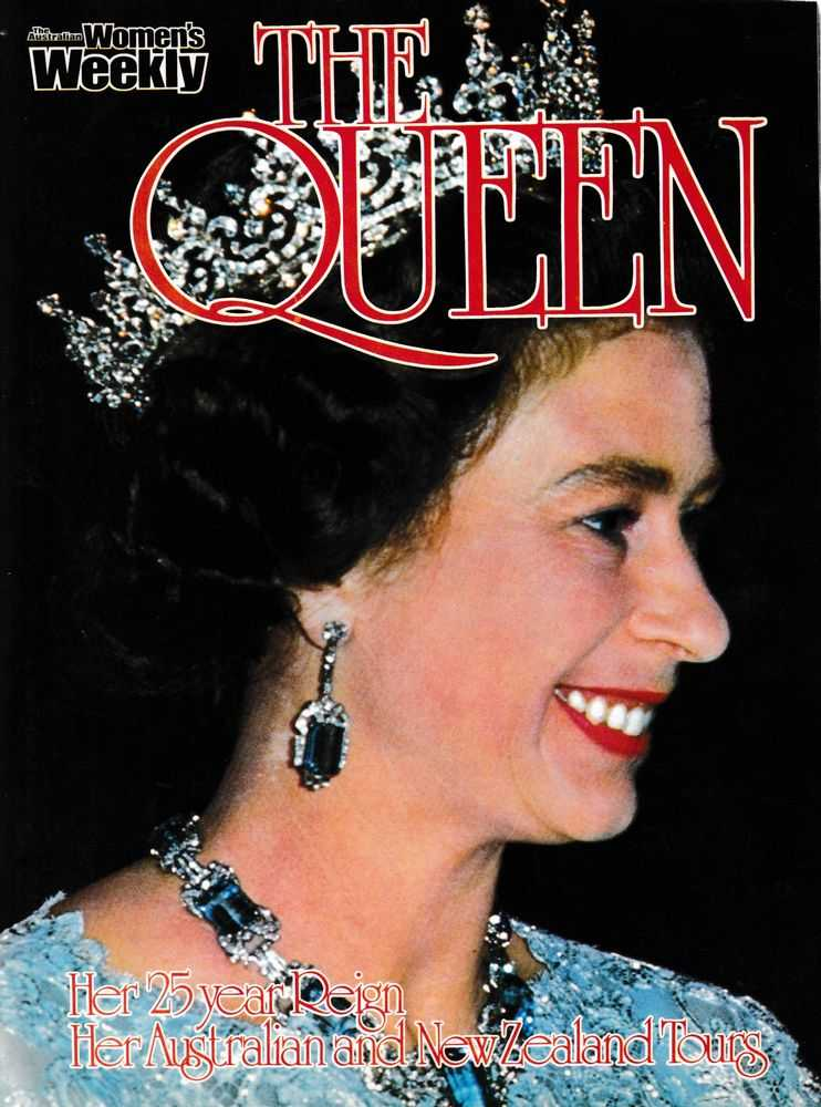 The Queen: Her 25 Year Reign, Her Australian and New Zealand Tours, The Australian Women's Weekly